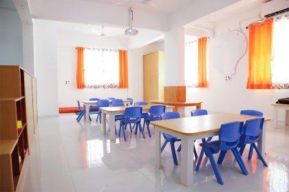Bright & Spacious Classrooms