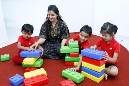Well trained staff at Tatva Preschools