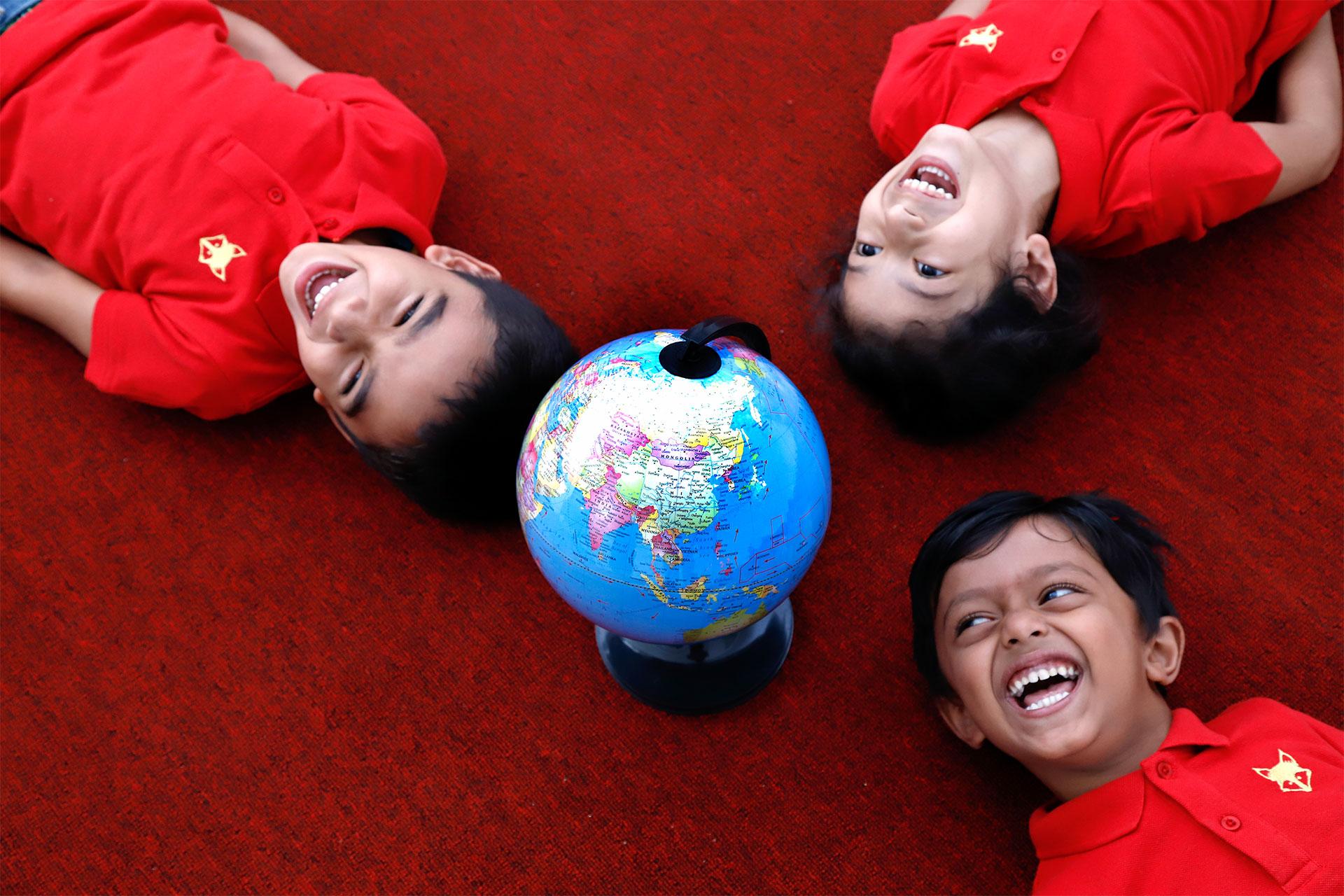 Stimulating environment to facilitate learning at Tatva Preschools, Pune