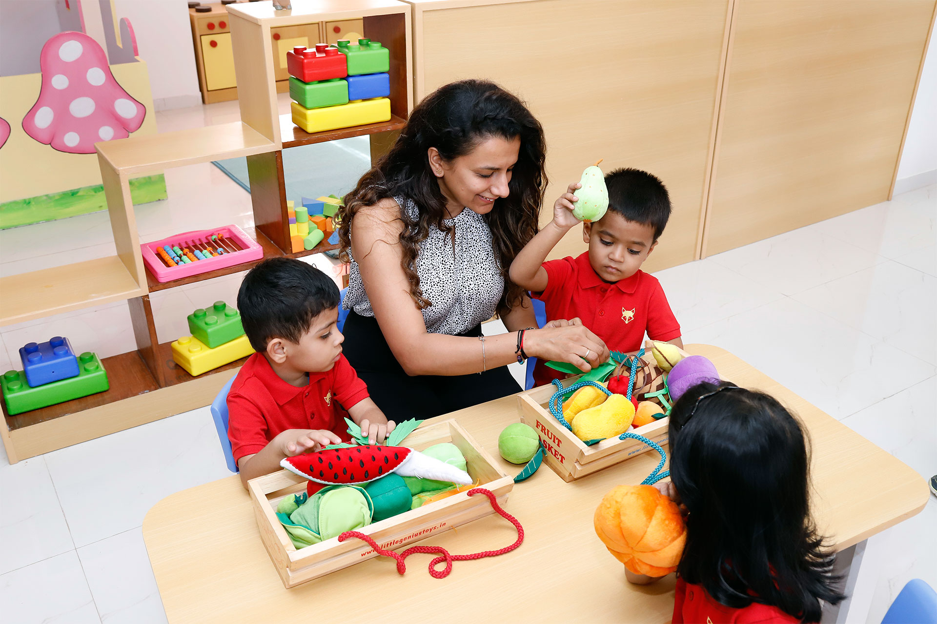 Well-qualified and experienced motivators at Tatva Preschools, Pune